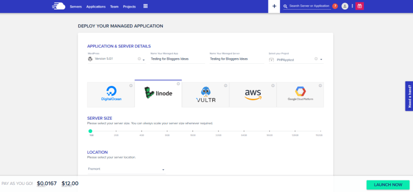 Cloudways Review- Signup With Cloudways