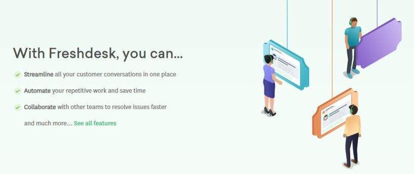 Feshdesk review details