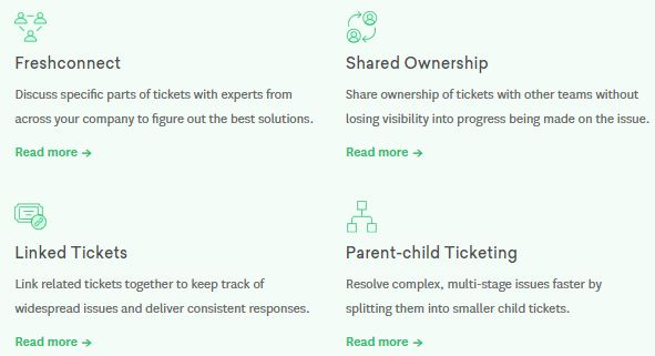 Freshdesk review feature details