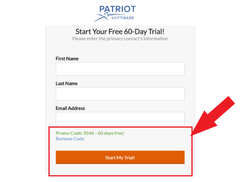 Patriot Software Discount Coupon Code