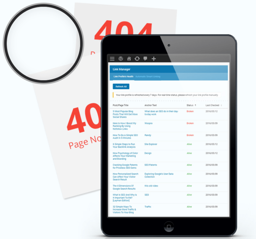 SEOPressor Review- Smart Link Manager