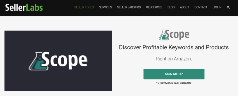 Scope Review- Amazon SEO Keyword Tool