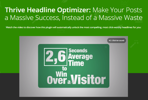 Thrive Headline Optimizer Review- Title A B Testing for WordPress