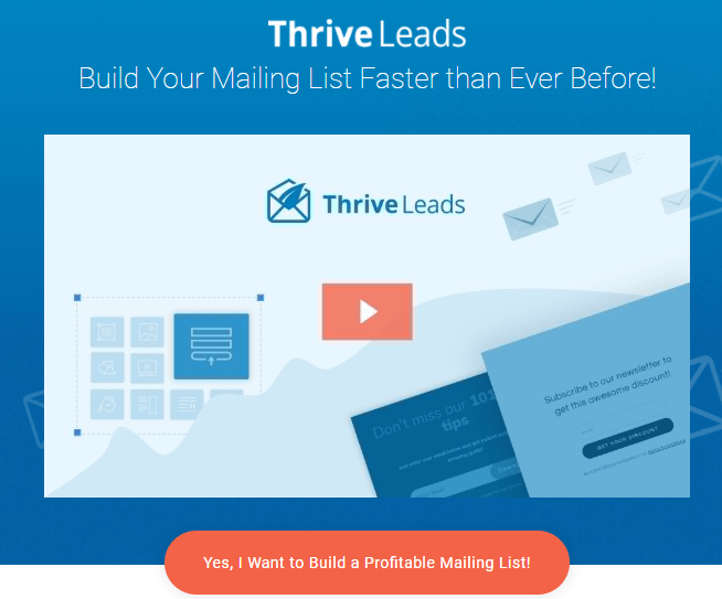 Thrive Leads Review- Ultimate List Building Plugin for WordPress