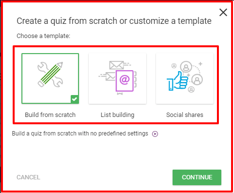 Thrive Quiz Builder Review- Build Quiz From Scratch