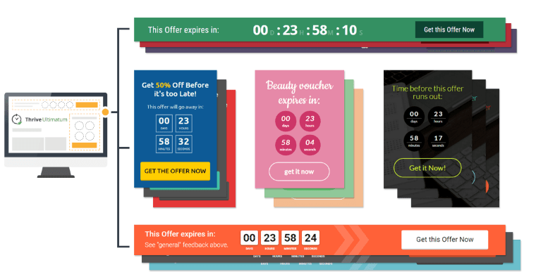 Thrive Ultimatum Review- Countdown Timers