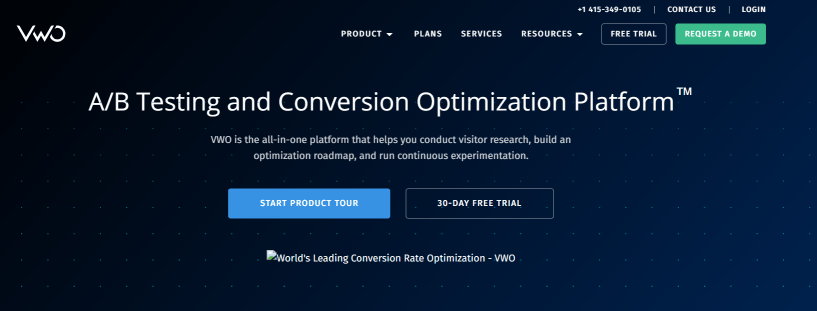 Best Conversion Rate Optimization Tools- VWO