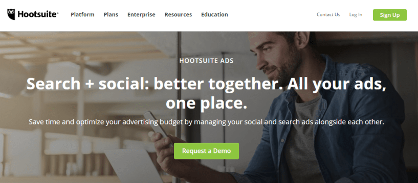 Hootsuite Ads- Best Facebook Ads Automation Tools