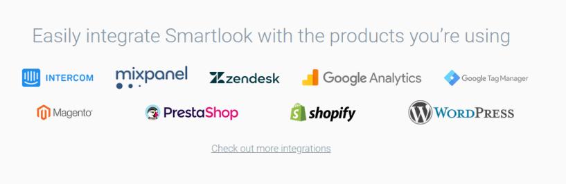 Smartlook integrations