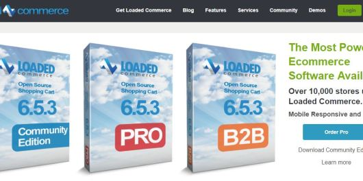 loaded-commerce-home-page