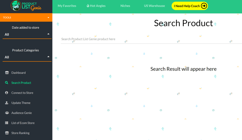 Product List Genie Shopify