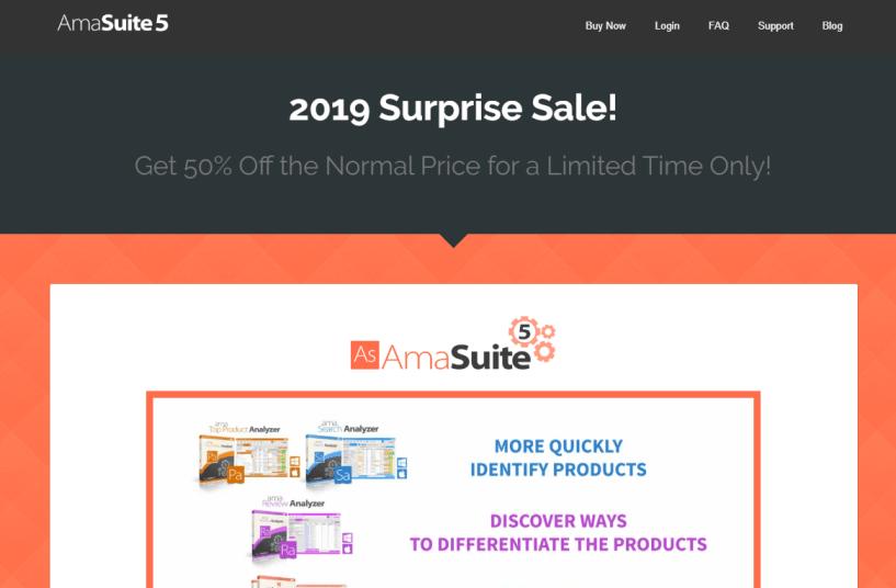 Amasuite- Amazon Seller Tools