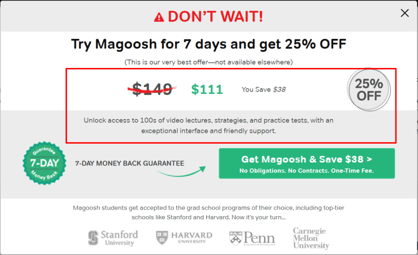 Magoosh Coupon Codes- Online GRE Prep Offers