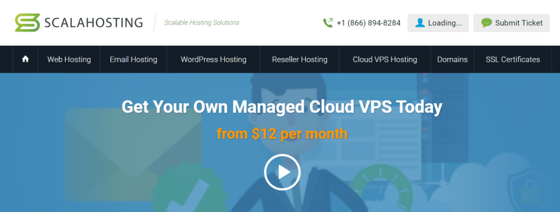 Scala Hosting- Managed Cloud VPS Hosting