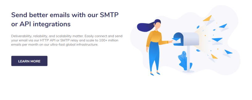 elastic email review- SMTP