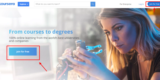 Coursera education review - join