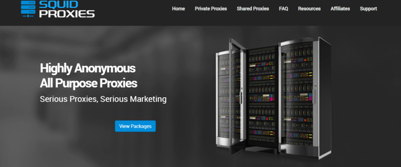 SquidProxies- Fast Proxy Providers For USA
