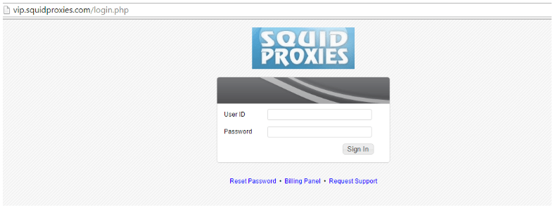 SquidProxies Review- Add Your IP