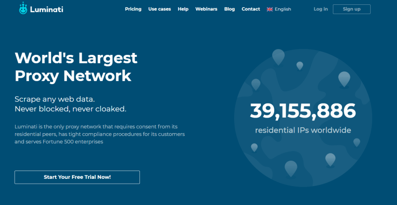 Luminati- Residential IP and Proxy Service for Businesses