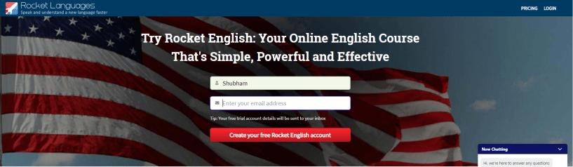 Rocket Languages Courses Coupon Codes- Enter Your Details