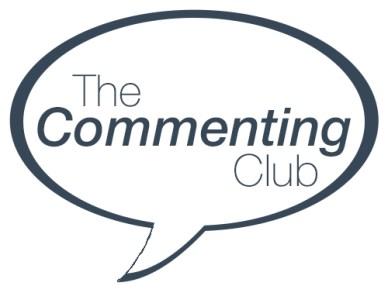 The Commenting Club Logo 2 - Alice Elliott