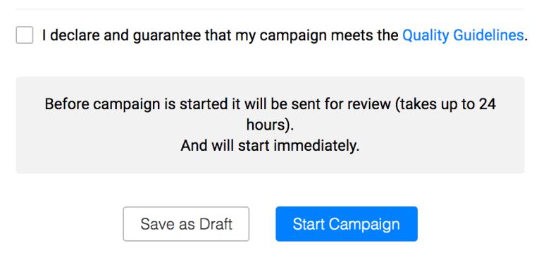 Campaign Setup - Push Notification Guide