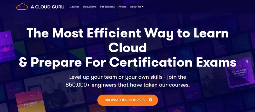 Top 5 AWS Certifications Training Providers- A Cloud Guru