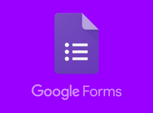Google Forms - online survery tool