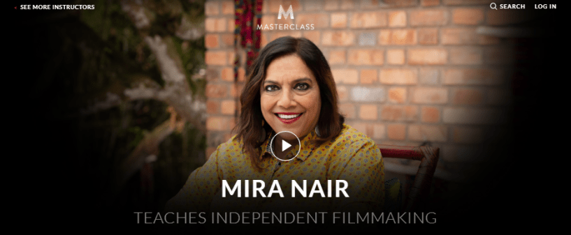 Mira Nair MasterClass Review - introduction