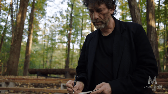 Neil Gaiman Storytelling Masterclass Review - write words