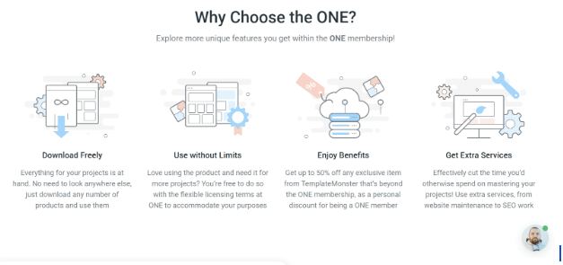 ONE Review - by TemplateMonster benefits