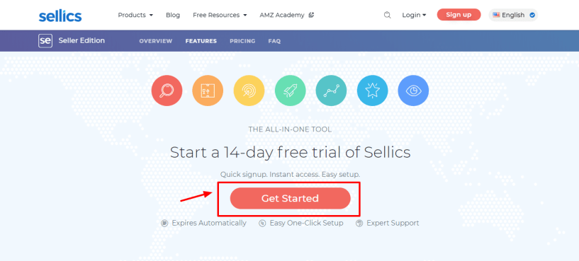Sellics vs helium 10 - 14 days free