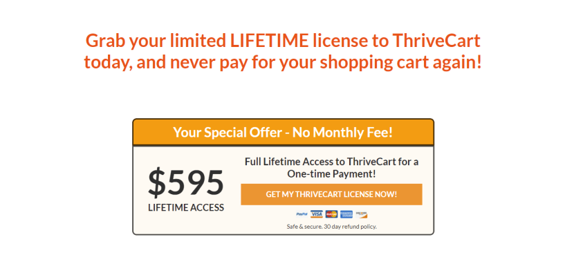 ThriveCart Vs ClickFunnels - The number 1 cart Pricing