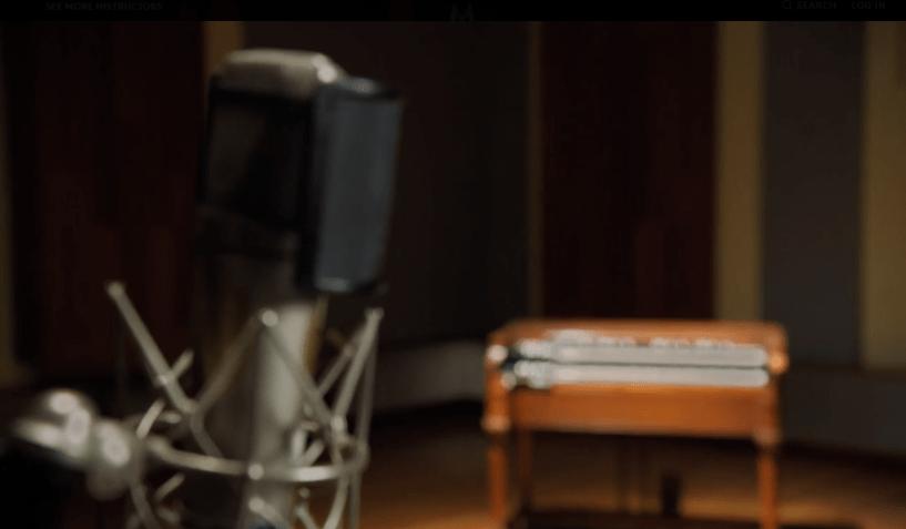 Timbaland MasterClass Review - instrument