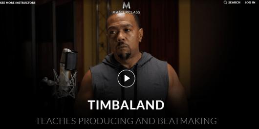 Timbaland MasterClass Review - introduction