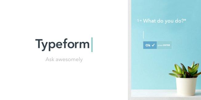 Typeform - Online Survery Tool