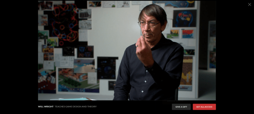 Will Wright MasterClass Review - design