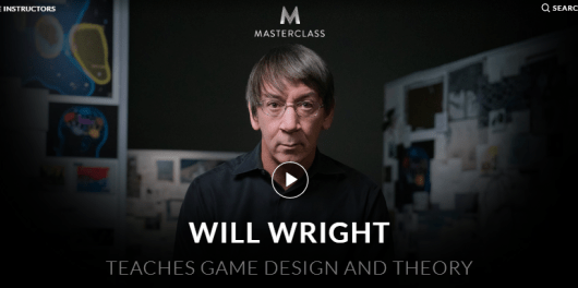 Will Wright MasterClass Review - teach design and theory