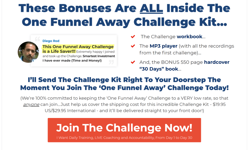 one funnel away challenge reviews pros and cons