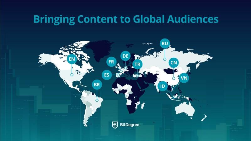 BitDegree Coupon - Global audiences