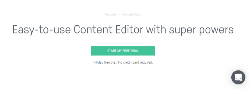 Omnisend Review - Content Editor