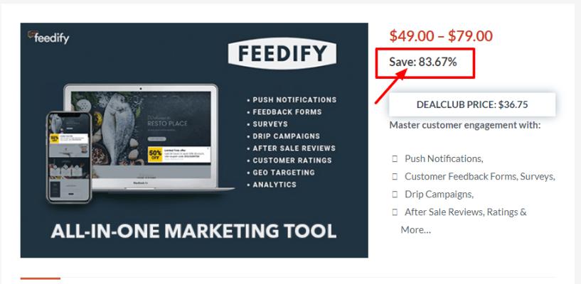 Dealfuel Discount Offers Deals - Feedify