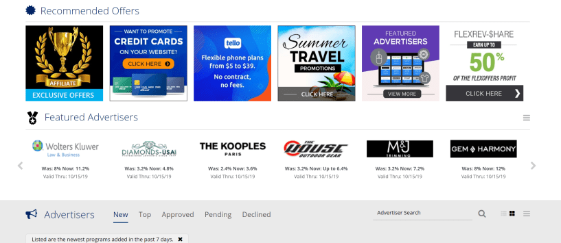 Flexoffers ad network legit reviews flexoffers affiliate program