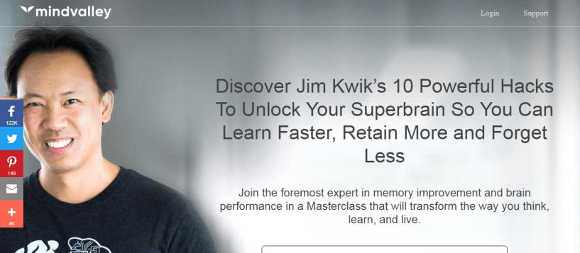 Jim Kwik SuperBrain Course Review - Mindvalley