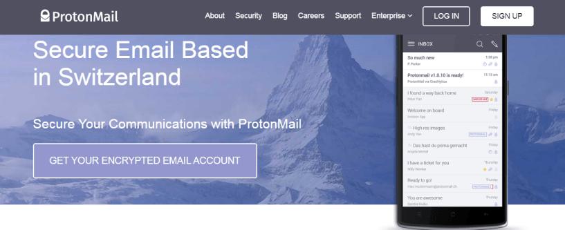 ProtonMail Review- ProtonMail