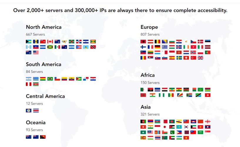 PureVPN Discount COupon Codes- IPs and Servers