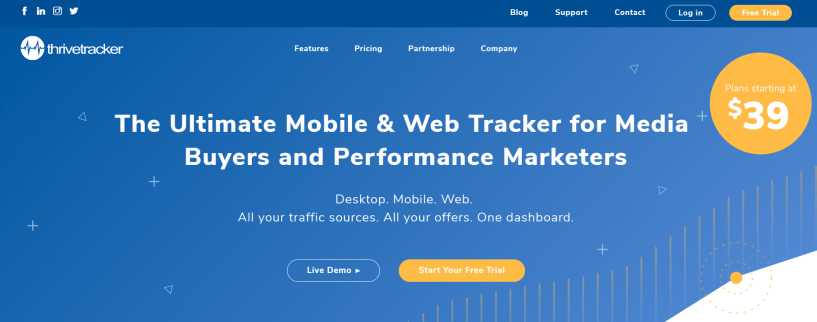 ThriveTracker- Best Ads Tracker Comparison