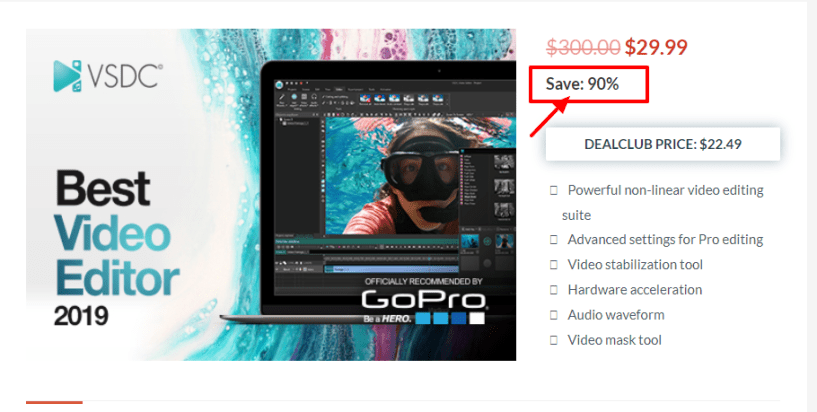 Dealfuel Discount Offers Deals - VSDC Video Editor
