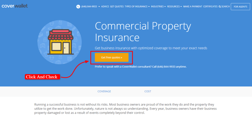 CoverWallet Review - Property Insurence
