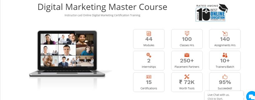 Digital Vidya Review - Digital Marketing master course